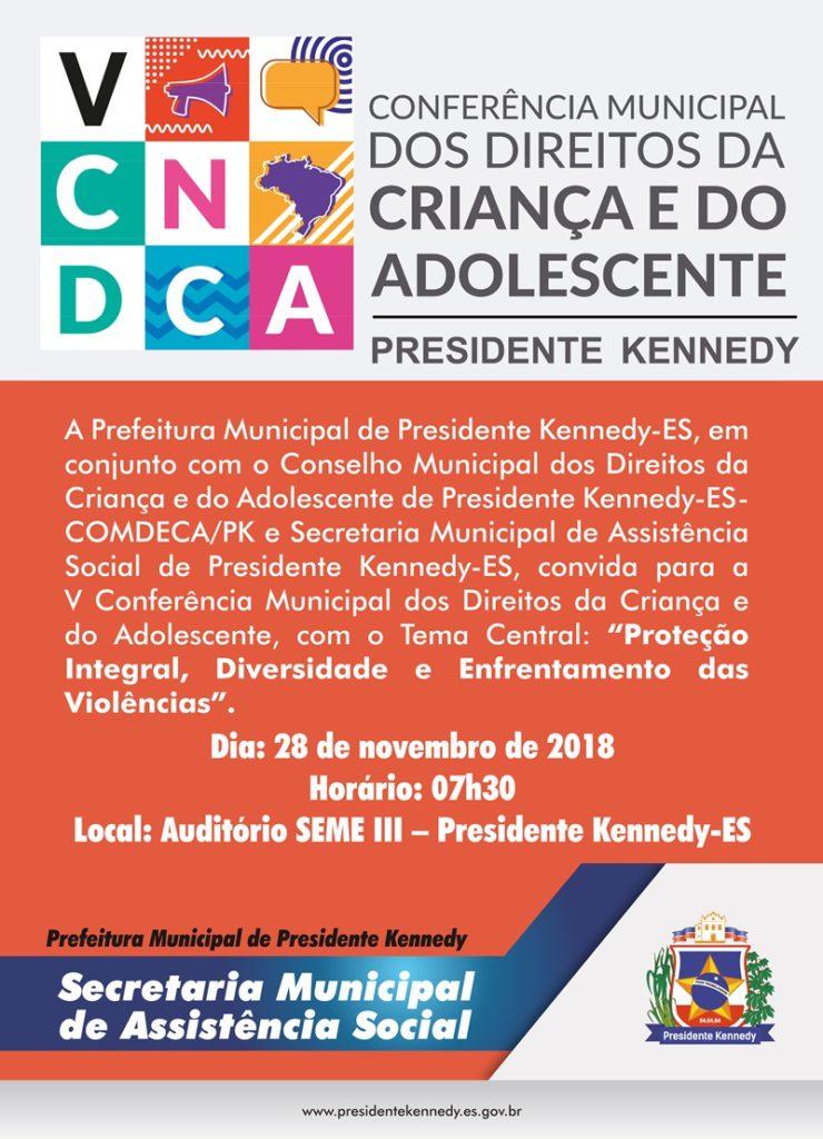 Conferência Direitos da Criança e do Adolescente