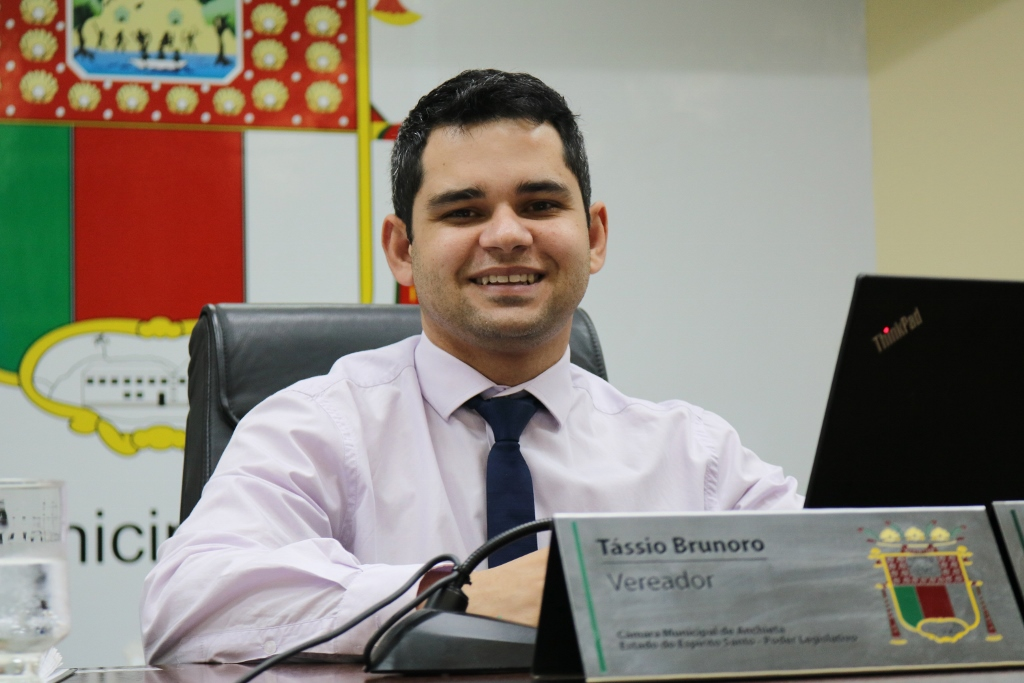 vereador Tássio Brunoro (MDB)