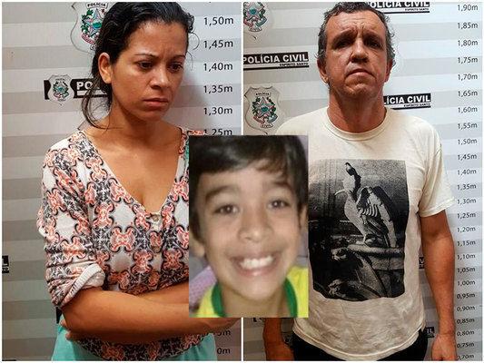 Padrasto e mãe são suspeitos de estrangular menino em Cachoeiro