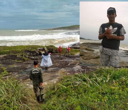 Jovem que morreu afogado em Guarapari nunca tinha visto o mar