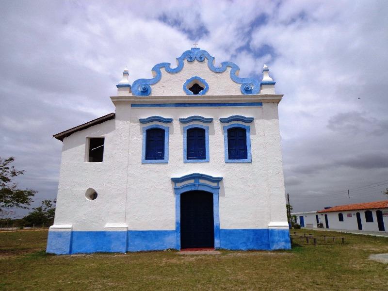 Santuário de Nossa Senhora das Neves, na cidade de Presidente Kennedy, no estado do Espírito Santo.