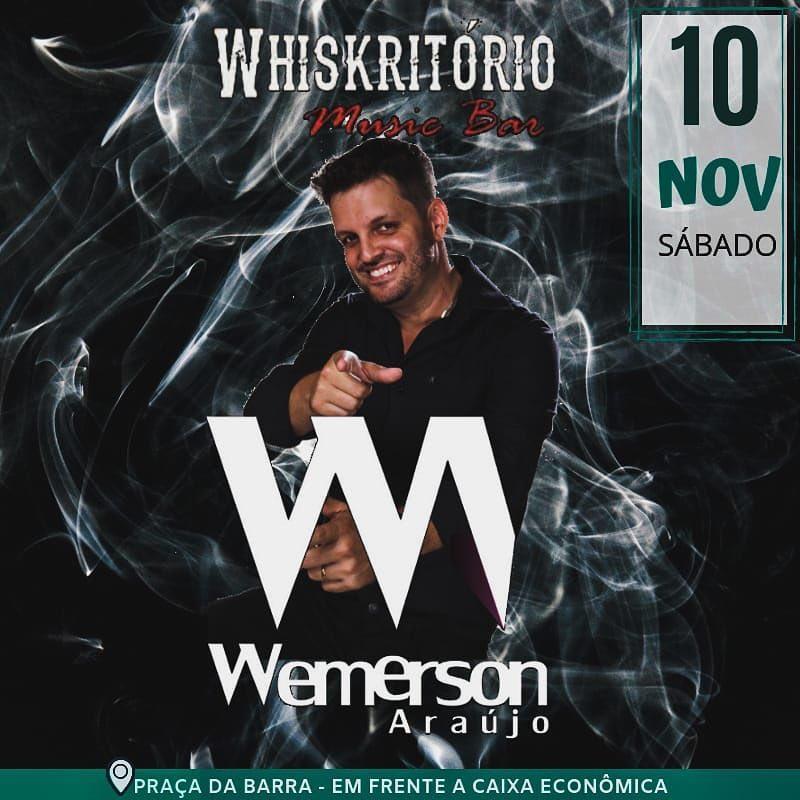 Wemerson Araújo no Whiskritório Music Bar