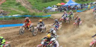 Competição de Motocross agitou o domingo (09) no interior de Marataízes