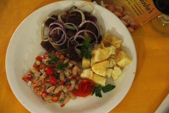 Bar Amarelinho's, apresenta nesta sexta (07) a 'carne seca na manteiga à moda da casa'. O prato é individual e será comercializado a R$ 15