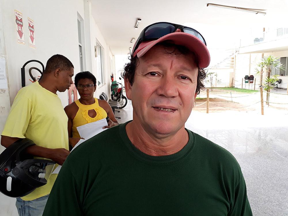Estevão Secretário de Obras de Marataízes