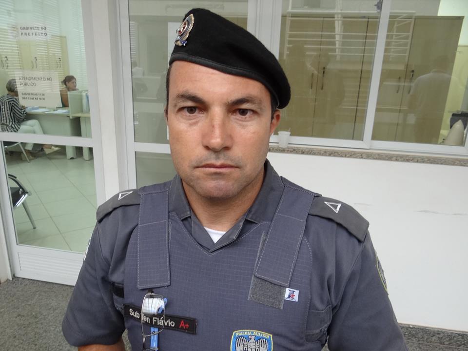 Tenente Flávio Moreira, uma das cabeças pensantes da nossa briosa PM capixaba.