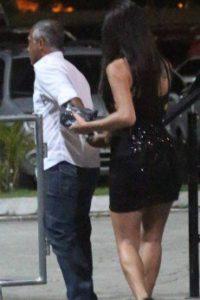 Romário flagrado com Thallita Zampirolli. Foto: Streetphoto