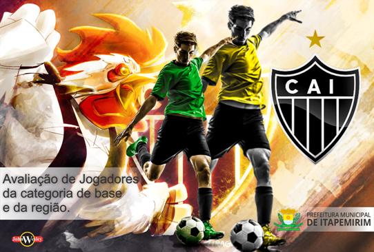 Atlético Itapemirim faz avaliação de jogadores de base e da região