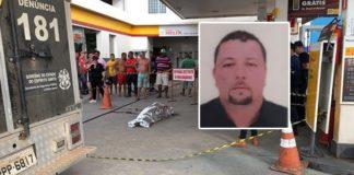 Homem é morto covardemente em posto de gasolina após briga de trânsito