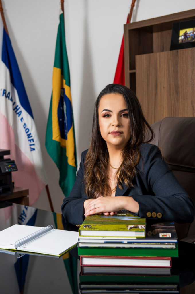 Amanda Quinta Rangel, prefeita de Presidente Kennedy