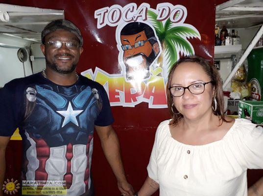 Toca do Verão, uma nova opção de lazer, boa comida e bebida gelada, além da boa música, na praça do bairro Pedrolância. Do casal jornalista, Célia Ferreira e Verão.