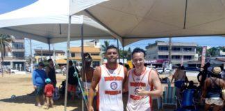 Com prótese na perna esquerda, Dudu é o atleta superação do Torneio de Futevôlei em Marataízes