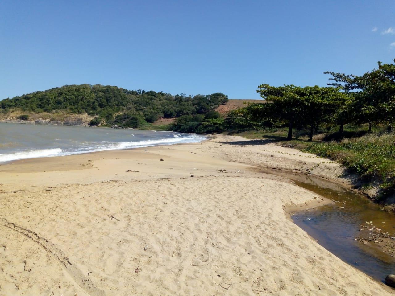 Praia do Monte Aghá, é uma das Praias Paradisíacas, entre Iriri e Piúma