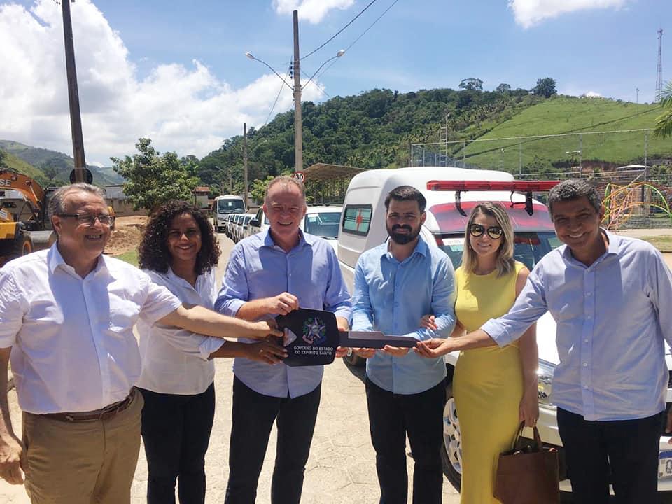 Equipamentos para saúde são entregues em Rio Novo do Sul