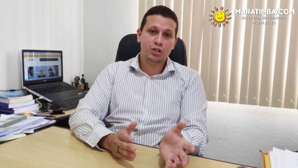 O presidente do SINDSERV Itapemirim Cleverson Maia fala sobre os investimentos no sindicato