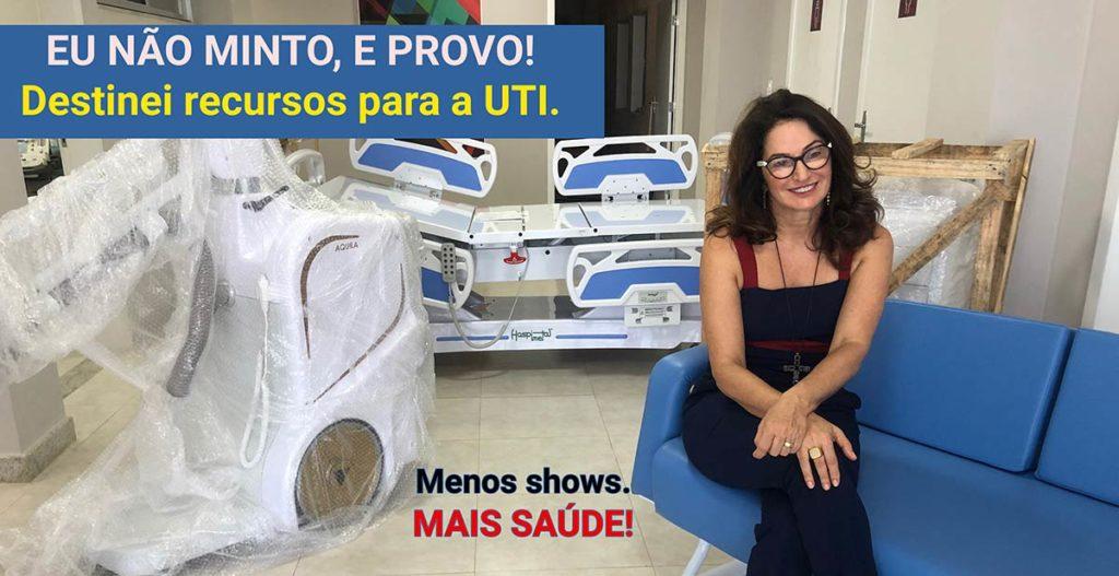 Hospital Evangélico confirma a divulgação da Deputada Norma Ayub sobre a UTI do Santa Helena