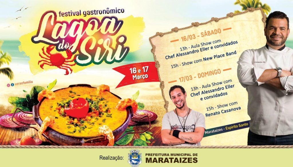 As águas de Março trazem o III Festival Gastronômico de Itapemirim