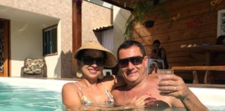 Ígila Machado e seu esposo Jânio Machado