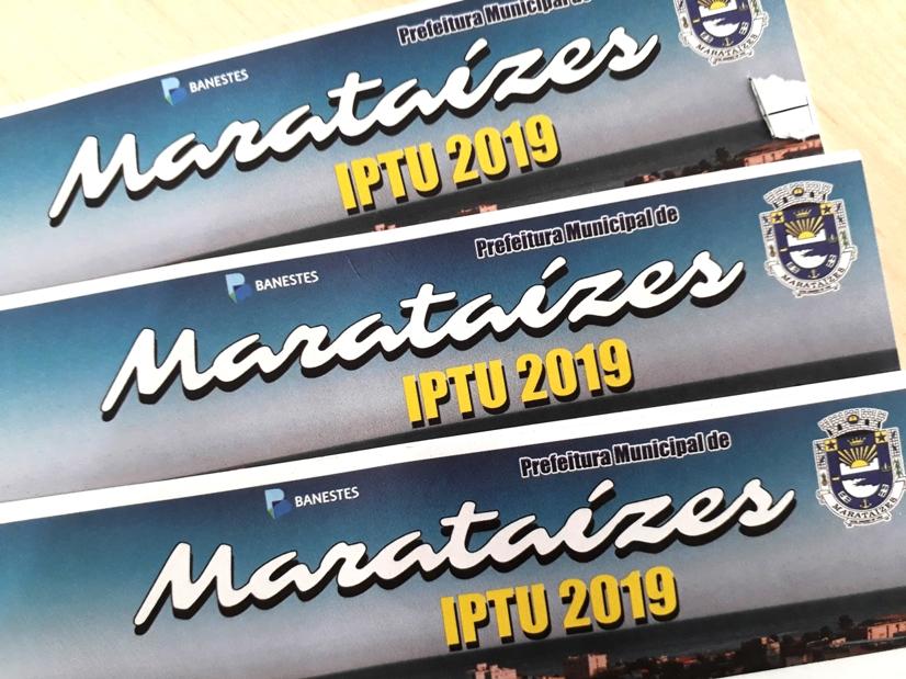 Prefeitura de Marataízes abre período de descontos no IPTU 2019