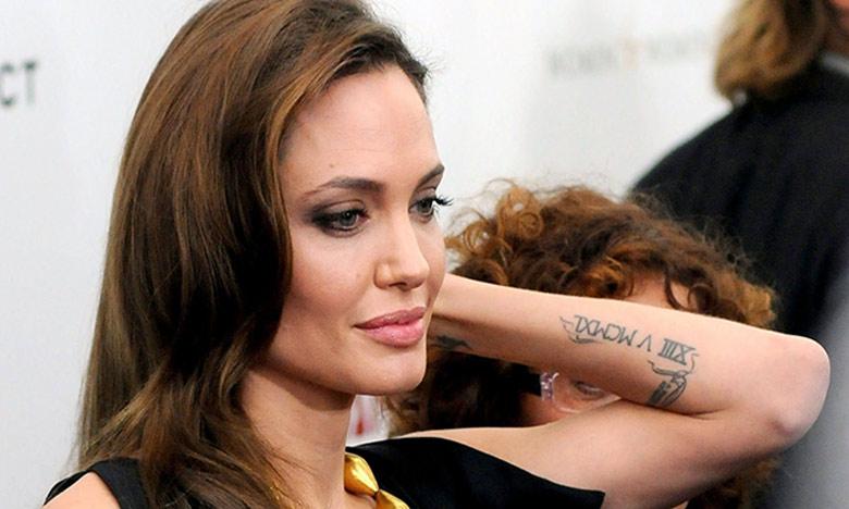 Quais são os significados das tatuagens de Angelina Jolie?