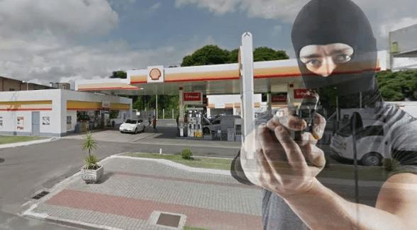 Posto de combustível é alvo de assaltantes em Marataízes