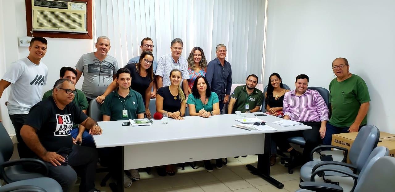 Reunião dos órgãos ambientais para a recuperação das Lagoas e Lagunas de Marataízes