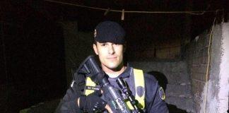 Policial mesmo de licença apreende arma em Marataízes