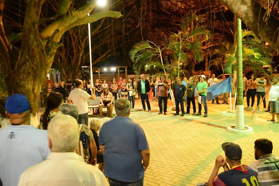 Marataízes inaugura Praça no bairro Pedrolândia, em Lagoa Funda
