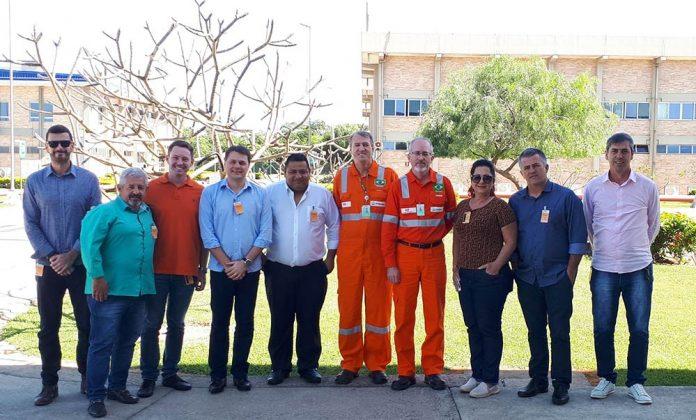 Vereadores visitam Unidade de Tratamento de Gás da Petrobras, em Anchieta