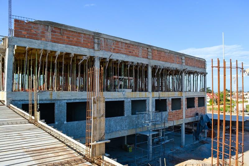 Obras da Escola Municipal de Marobá em Presidente Kennedy devem ser concluídas até janeiro de 2020