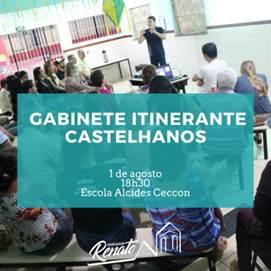 """Castelhanos recebe Gabinete Itinerante """"Perto de Você"""" nesta quinta (1), em Anchieta"""