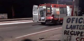 Motociclista morre após bater moto contra muro em Guarapari