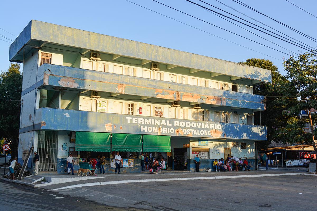 Prefeitura de Presidente Kennedy inicia reforma do Terminal Rodoviário Honório Costalonga