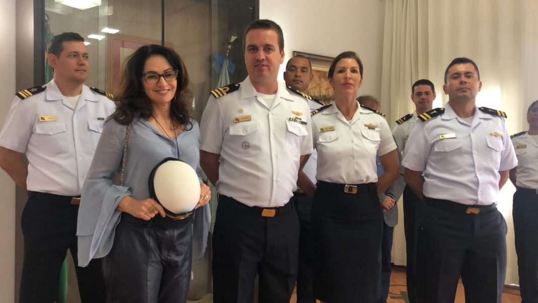 Norma Ayub visita Escola de Aprendizes - Marinheiros do Espírito Santo