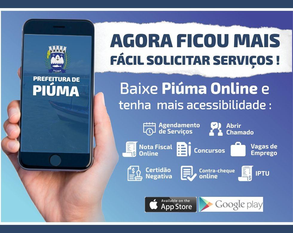 Piúma lança aplicativo para facilitar acesso aos serviços públicos