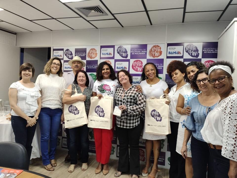 Vice-governadora conhece ações da Secretaria de Políticas para as Mulheres da Bahia