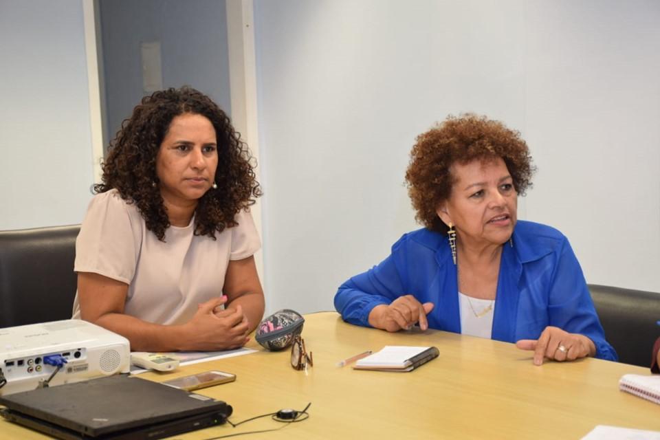 Vice-governadora recebe representante do Ministério da Mulher