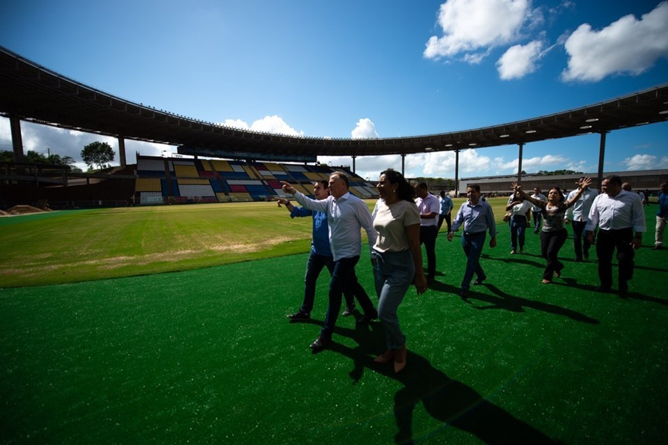 Intervenções no Estádio Kleber Andrade para Copa do Mundo Sub-17 estão em fase final