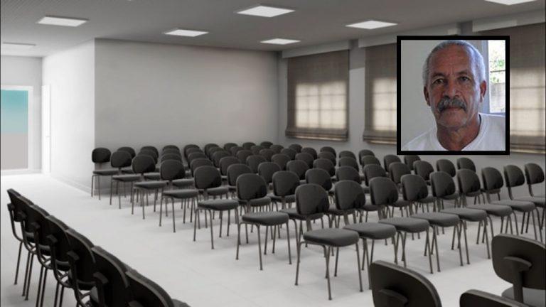 Maquete do auditório Renato Nascimento