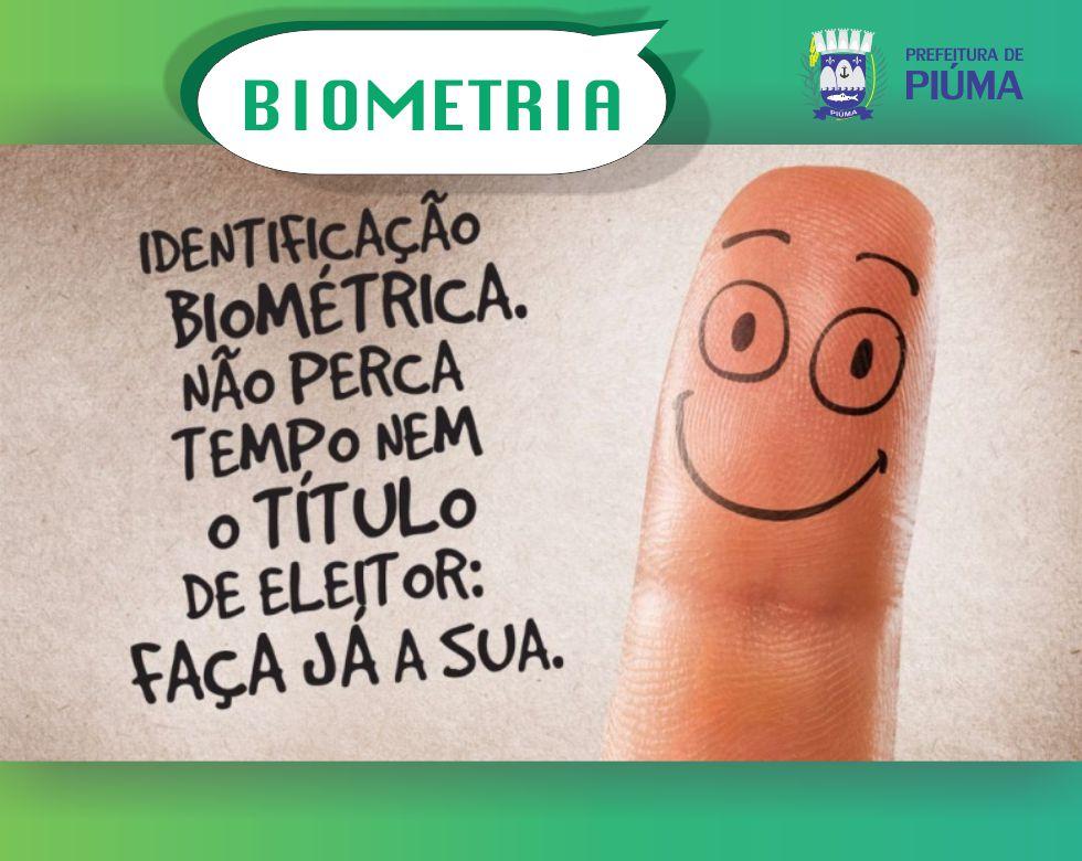 Reta final para o recadastramento biométrico em Piúma
