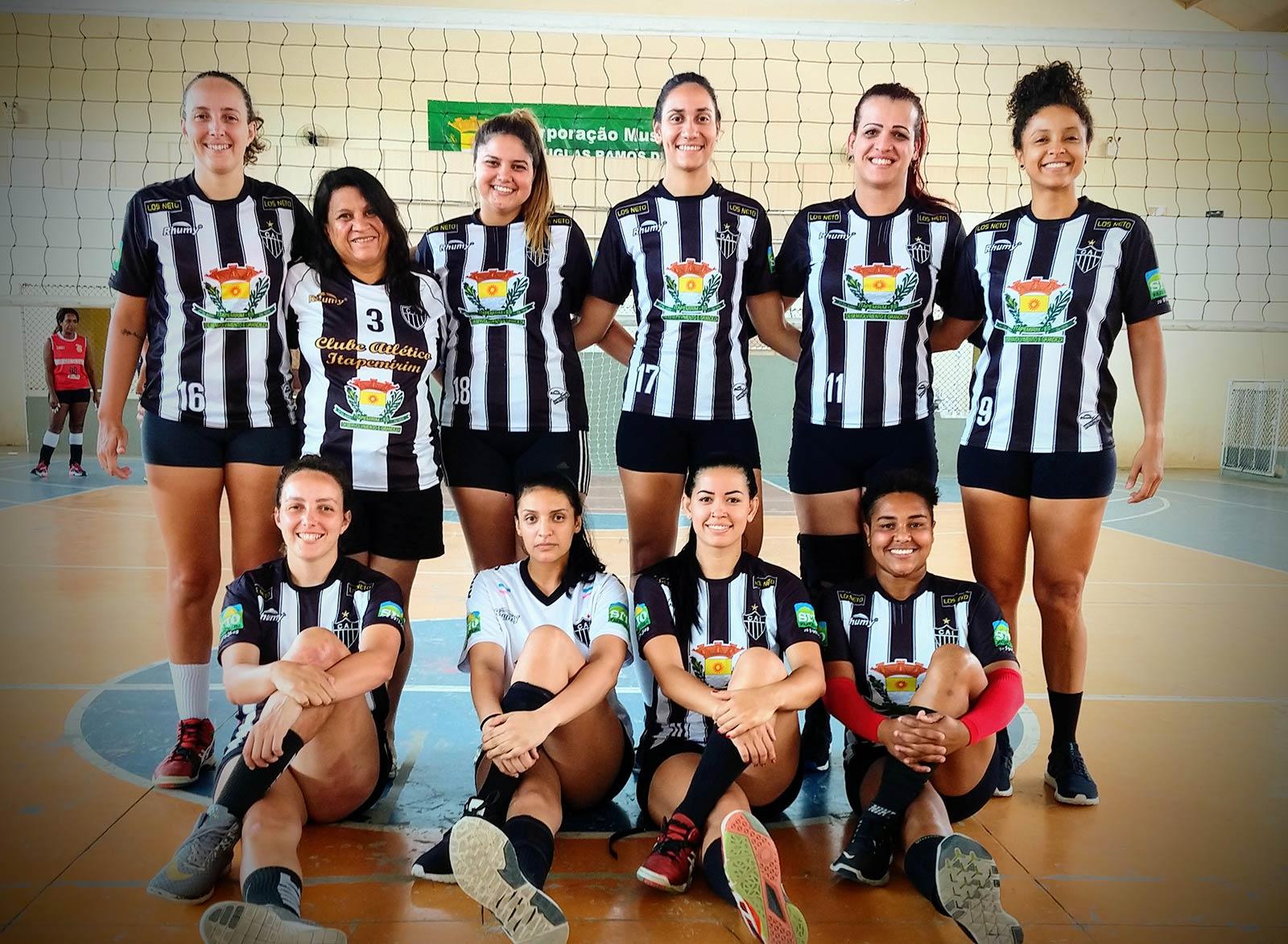 Voleibol feminino do Atlético Itapemirim vence o Saldanha e se classifica para semifinal do Capixaba